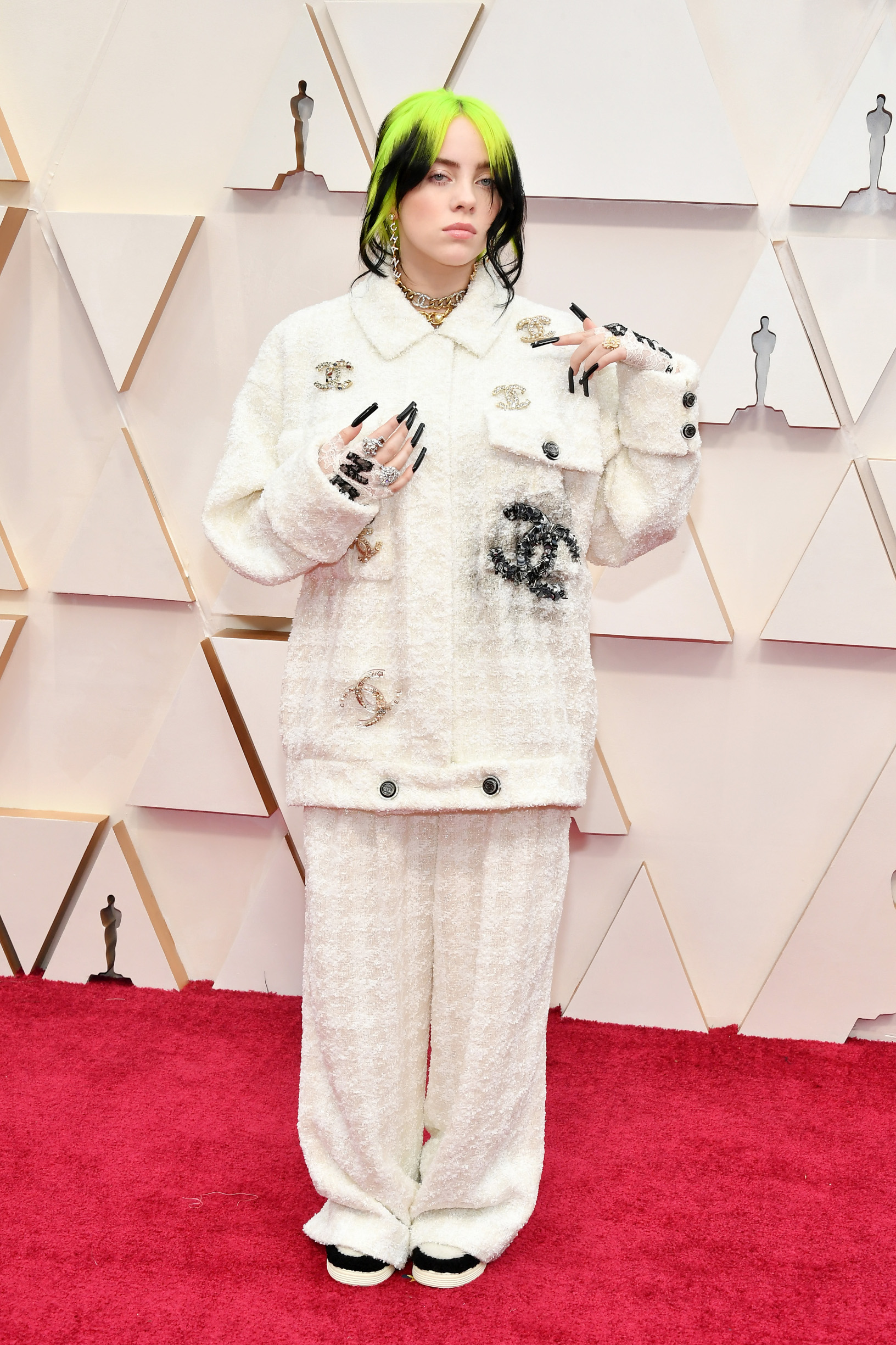 HOLLYWOOD, CALIFORNIA - FEBRUARY 09: Billie Eilish attends the 92nd Annual Academy Awards at Hollywood and Highland on February 09, 2020 in Hollywood, California. (Photo by Amy Sussman/Getty Images)