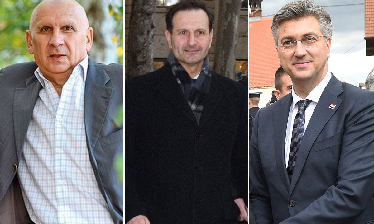 Vinko Begić, Miro Kovač, Andrej Plenković