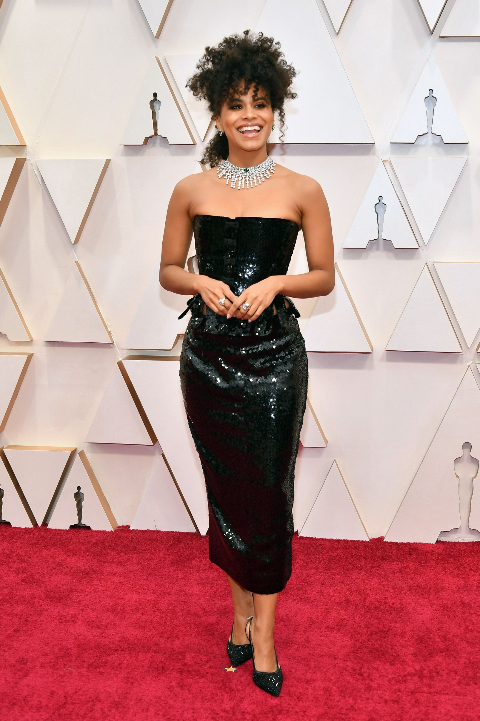 HOLLYWOOD, CALIFORNIA - FEBRUARY 09: Zazie Beetz attends the 92nd Annual Academy Awards at Hollywood and Highland on February 09, 2020 in Hollywood, California. (Photo by Amy Sussman/Getty Images)