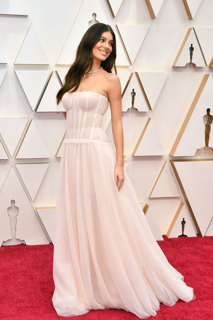 HOLLYWOOD, CALIFORNIA - FEBRUARY 09: Camila Morrone attends the 92nd Annual Academy Awards at Hollywood and Highland on February 09, 2020 in Hollywood, California. (Photo by Amy Sussman/Getty Images)