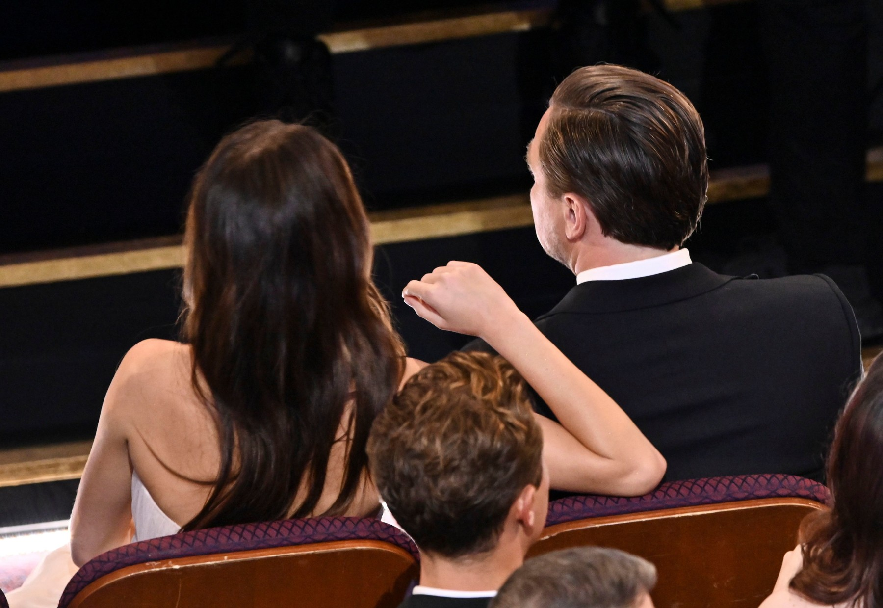 Camila Morrone and Leonardo DiCaprio 92nd Annual Academy Awards, Show, Los Angeles, USA - 09 Feb 2020, Image: 497497829, License: Rights-managed, Restrictions: , Model Release: no, Credit line: Rob Latour / Shutterstock Editorial / Profimedia