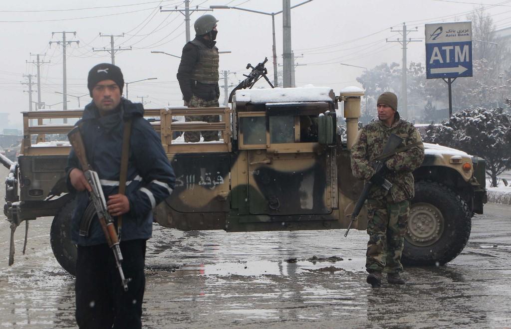 Mjesto napada u Kabulu