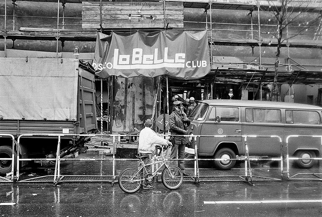 """West-Berlin, 05.04.1986, Bombenanschlag auf die Diskothek """"La Belle"""
