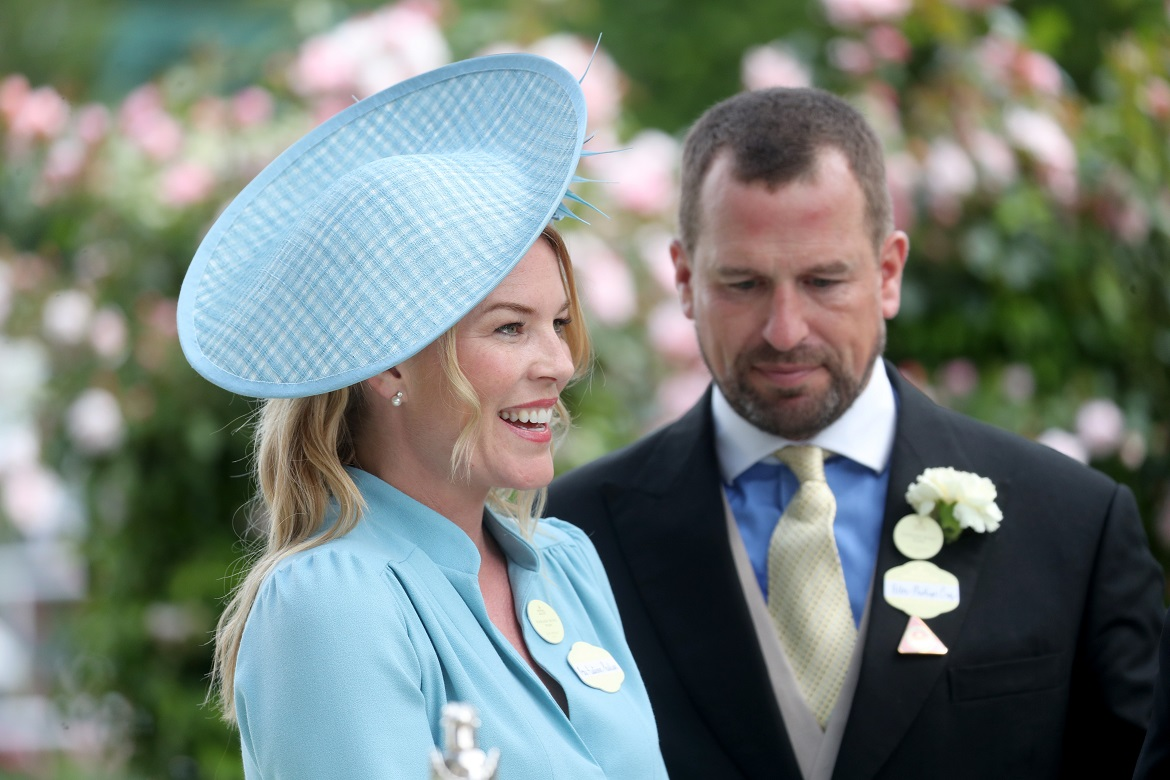 ASCOT, ENGLAND - JUNE 22: Peter Phillips and Autumn Phillips attends day five of Royal Ascot at Ascot Racecourse on June 22, 2019 in Ascot, England. (Photo by Chris Jackson/Getty Images)