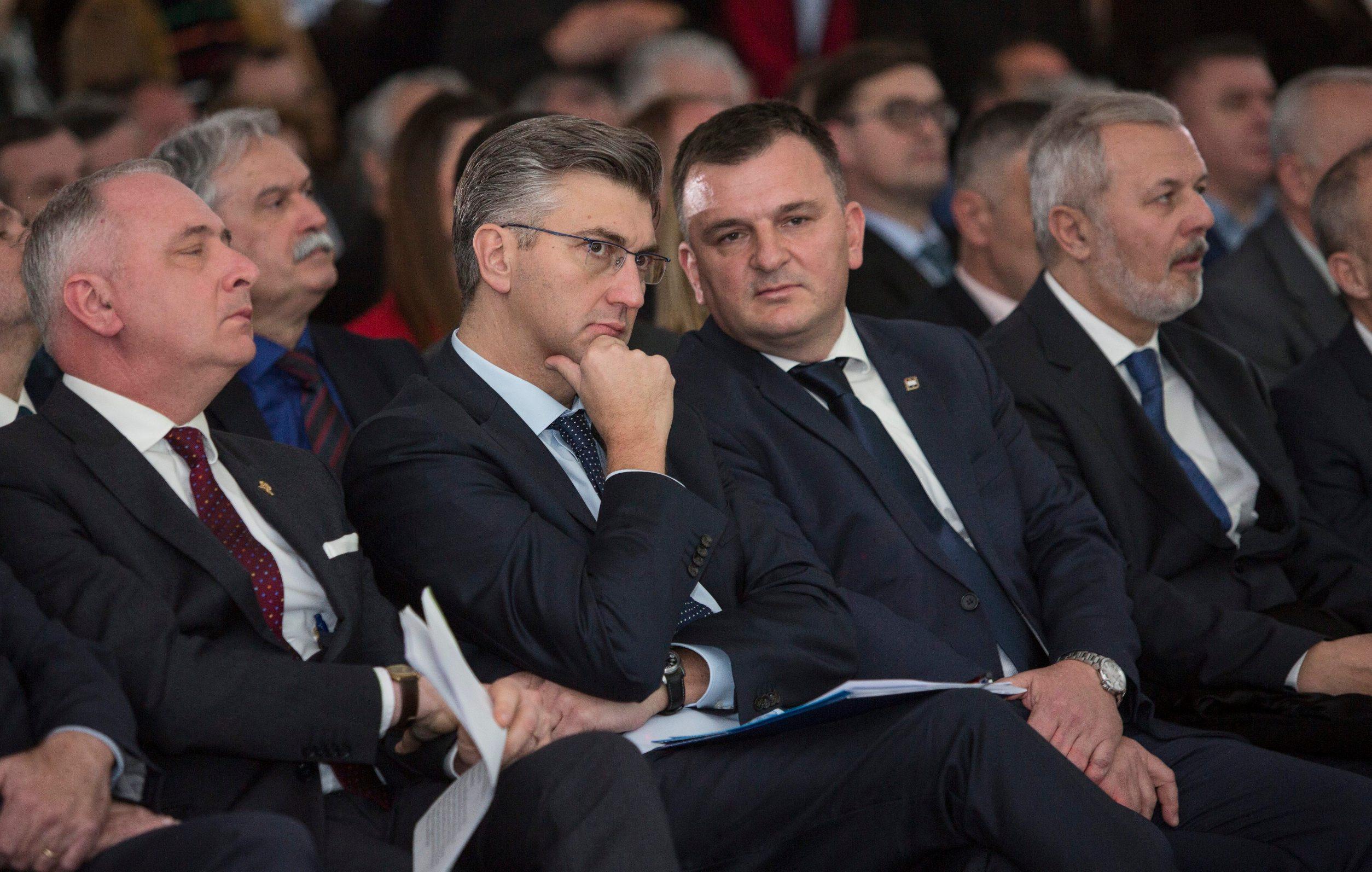 Andrej Plenković i Petar Škorić