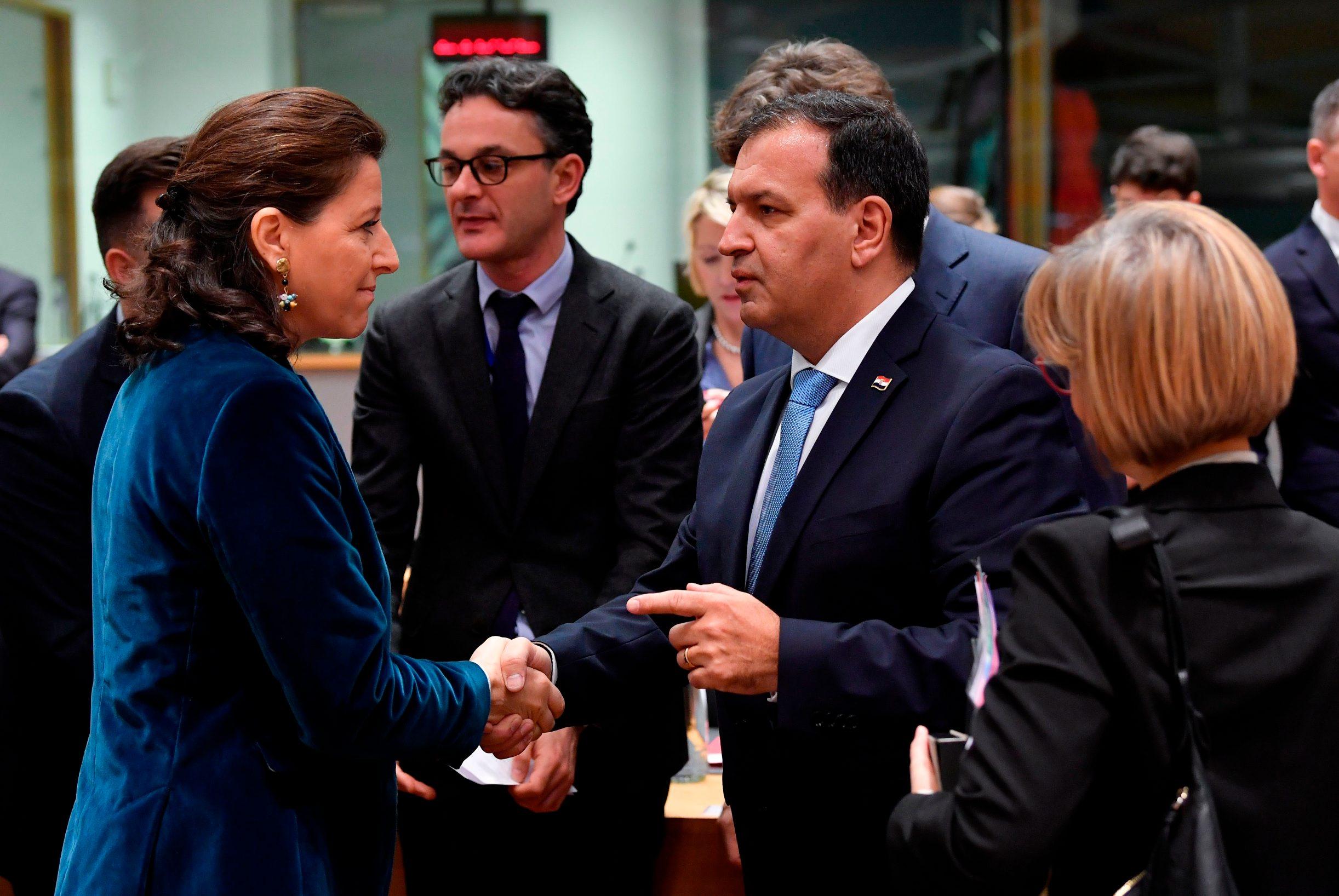 Francuska ministrica zdravstva Agnes Buzyn i Vili Beroš