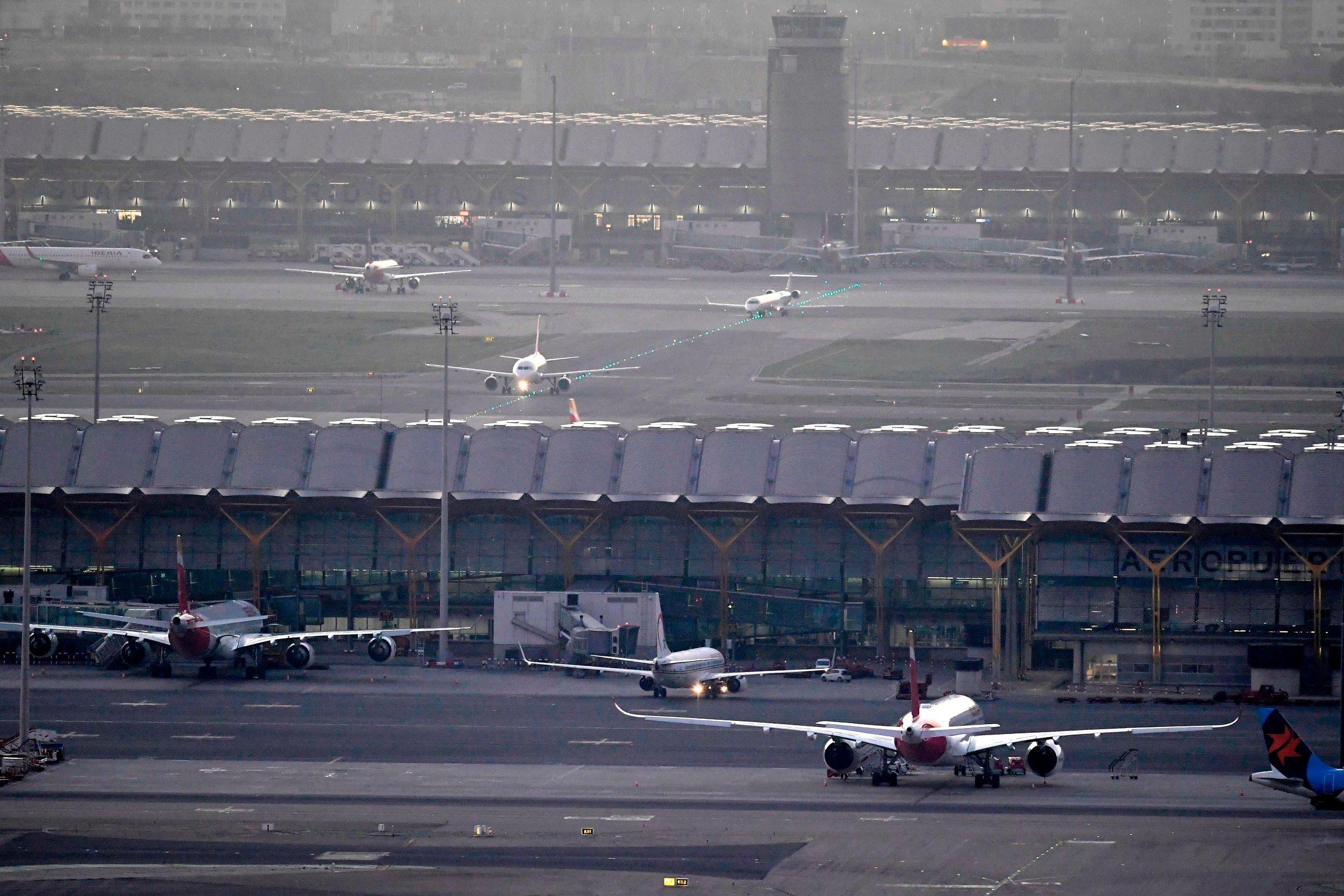 Zračna luka u Madridu