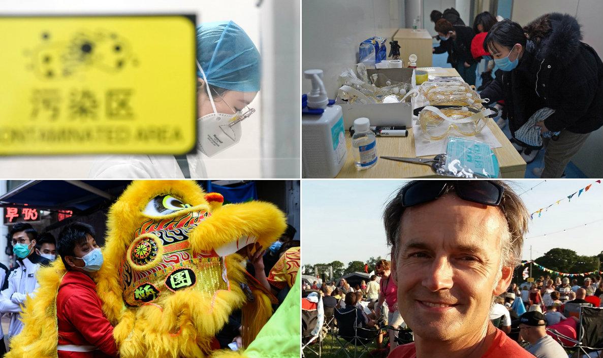 Koronavirus, Steve Walsh