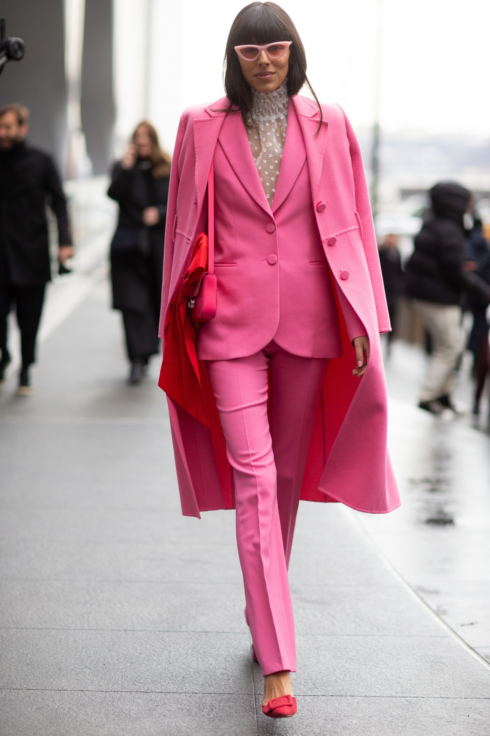 Street Style Street Style, Fall Winter 2020, New York Fashion Week, USA - 10 Feb 2020, Image: 497743392, License: Rights-managed, Restrictions: , Model Release: no, Credit line: Photoeventshd / Shutterstock Editorial / Profimedia