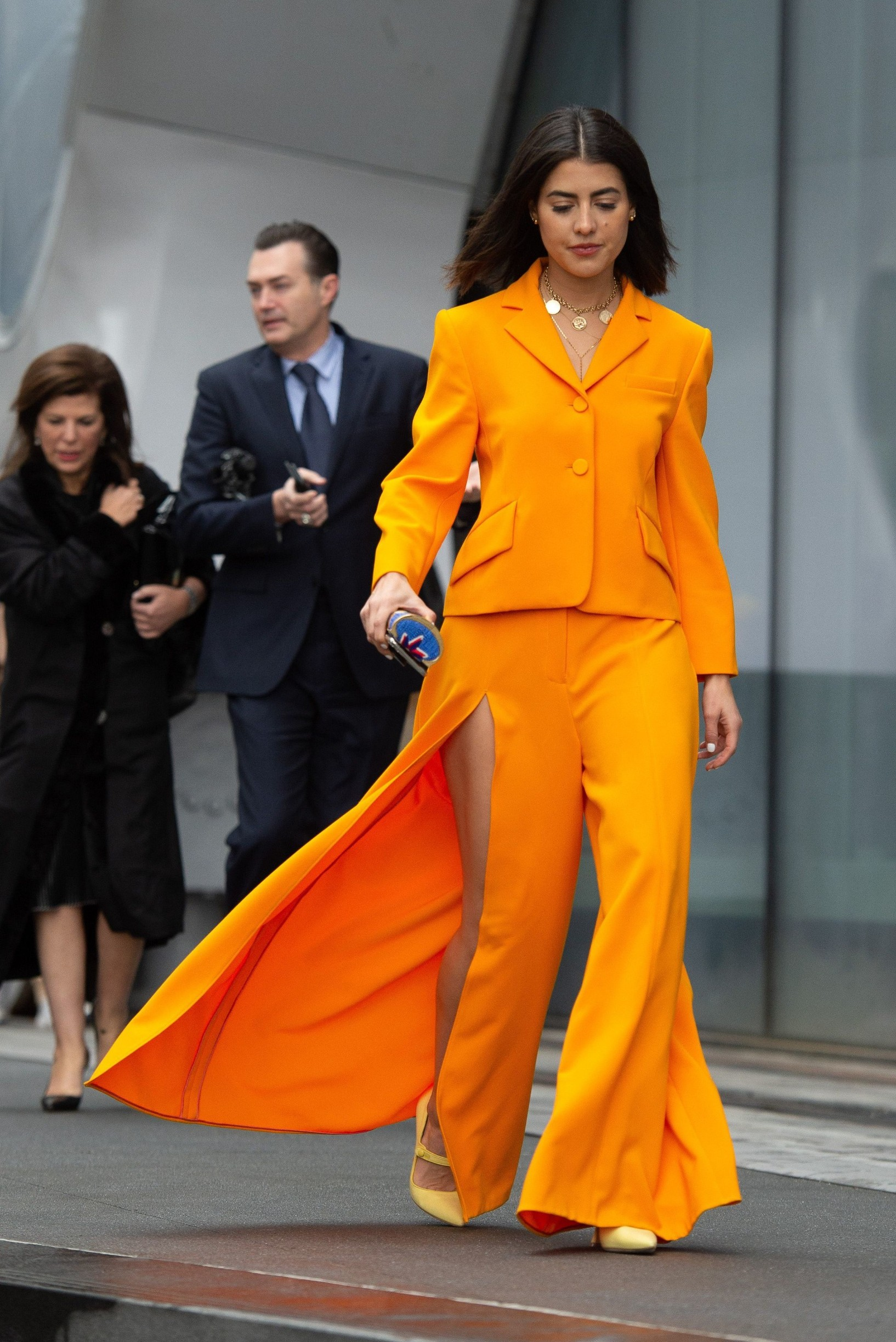 Street Style Street Style, Fall Winter 2020, New York Fashion Week, USA - 10 Feb 2020, Image: 497760705, License: Rights-managed, Restrictions: , Model Release: no, Credit line: ANDREW MORALES/WWD / Shutterstock Editorial / Profimedia