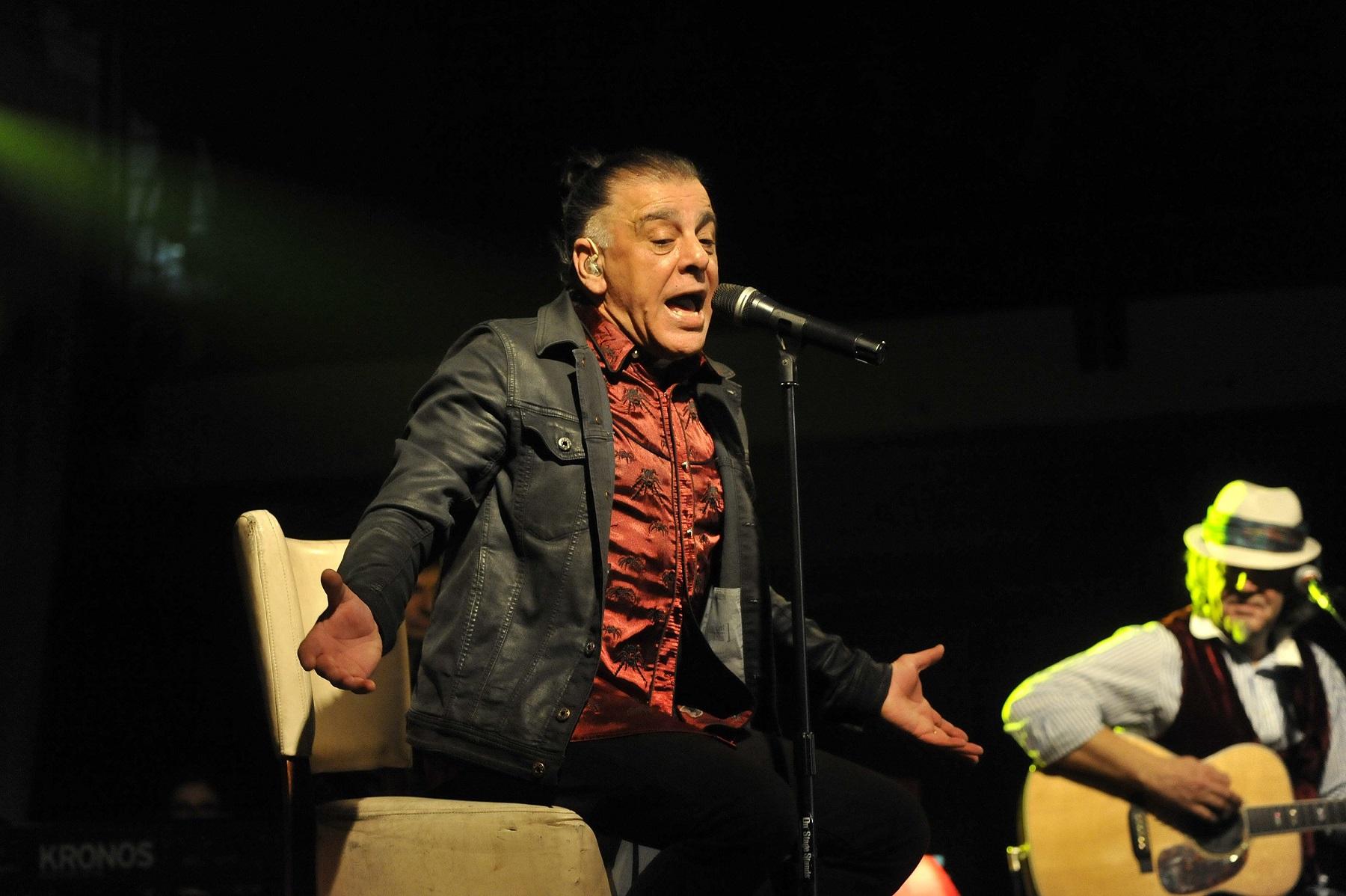 Zadar, 260216. Veceras je u prepunom klubu Arsenal odrzan unplugged koncert Parnog valjka. Foto: Luka Gerlanc / CROPIX