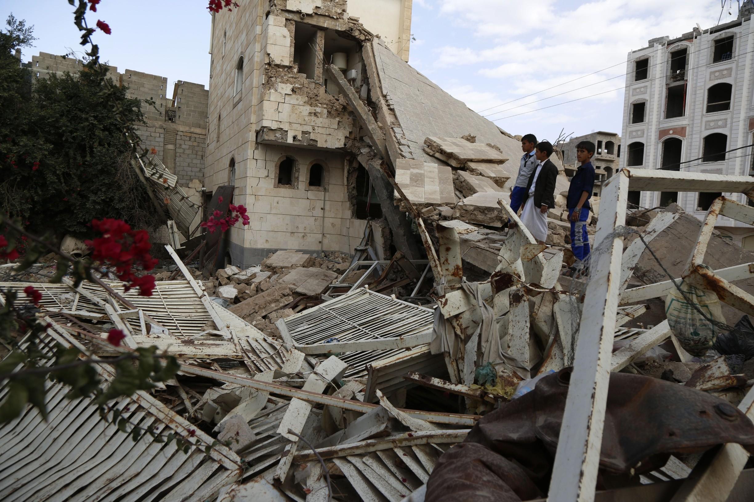 Jemen bombardiranjew
