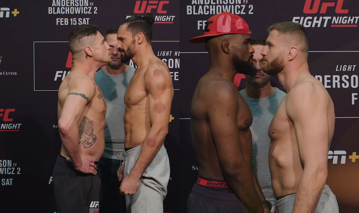 Sanchez vs. Pereira i Anderson vs. Blachowicz