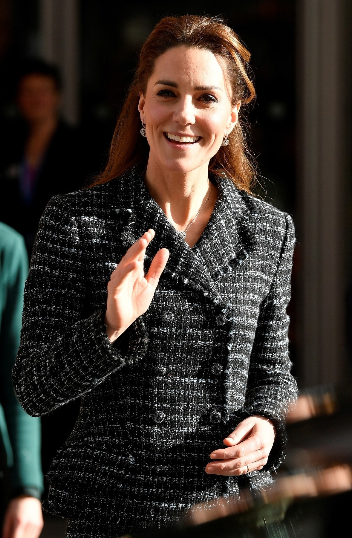 London, UNITED KINGDOM  - Catherine Duchess of Cambridge attends a National Portrait Gallery workshop at the Evelina Children's Hospital in London.  *UK Clients - Pictures Containing Children Please Pixelate Face Prior To Publication*, Image: 495317021, License: Rights-managed, Restrictions: RIGHTS: WORLDWIDE EXCEPT IN FRANCE, UNITED KINGDOM, Model Release: no, Credit line: BACKGRID / Backgrid UK / Profimedia