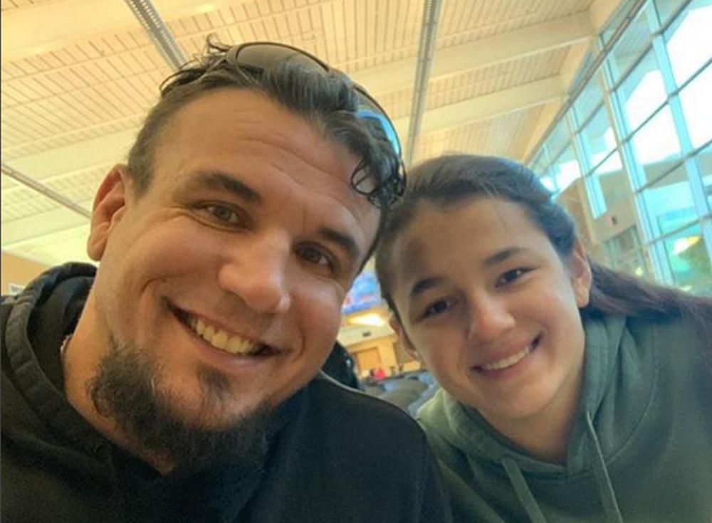 Frank Mir i njegova kći