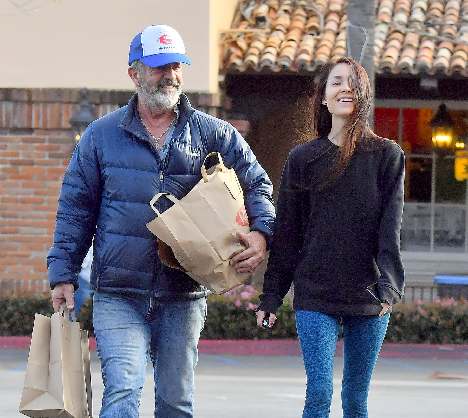 EXCLUSIVE: Mel Gibson and his girlfriend Rosalind Ross stop by a grocery store in Malibu. The pair were seen laughing and smiling as they shopped for groceries at their local Ralph's store. 24 Apr 2019, Image: 418751106, License: Rights-managed, Restrictions: World Rights, Model Release: no, Credit line: Playin' games / MEGA / The Mega Agency / Profimedia