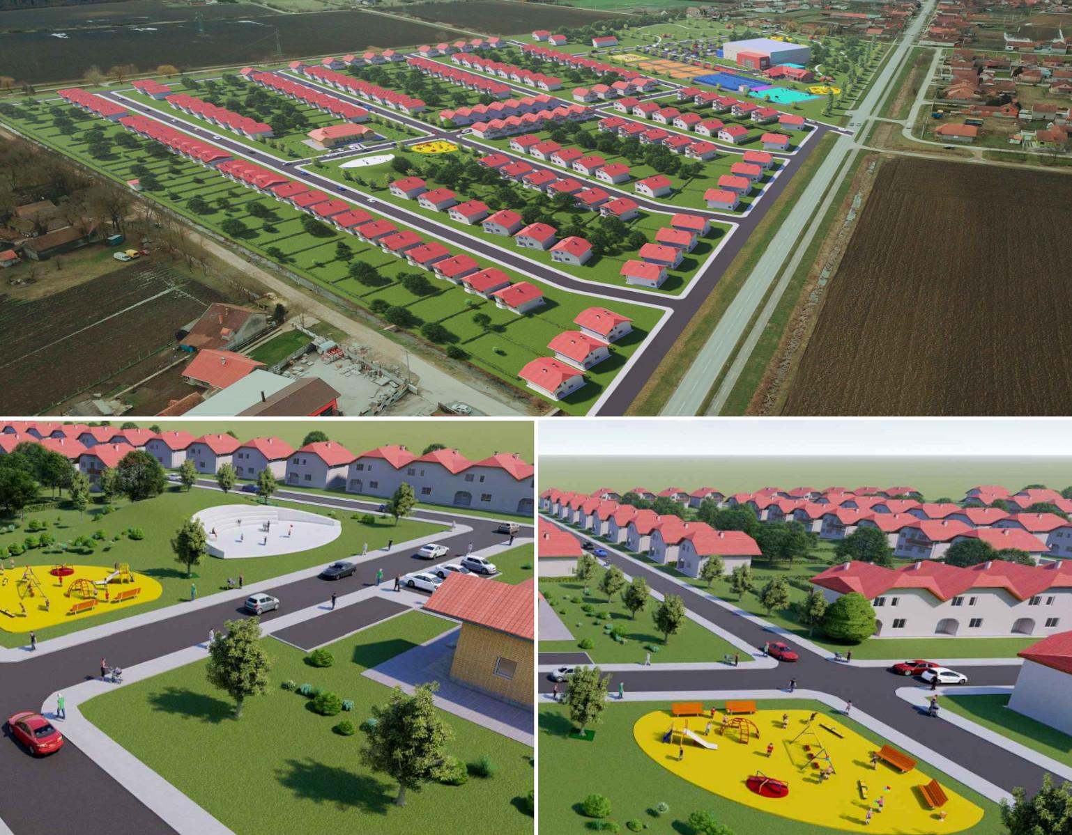 Novo naselje u Blaca u Rokovcima