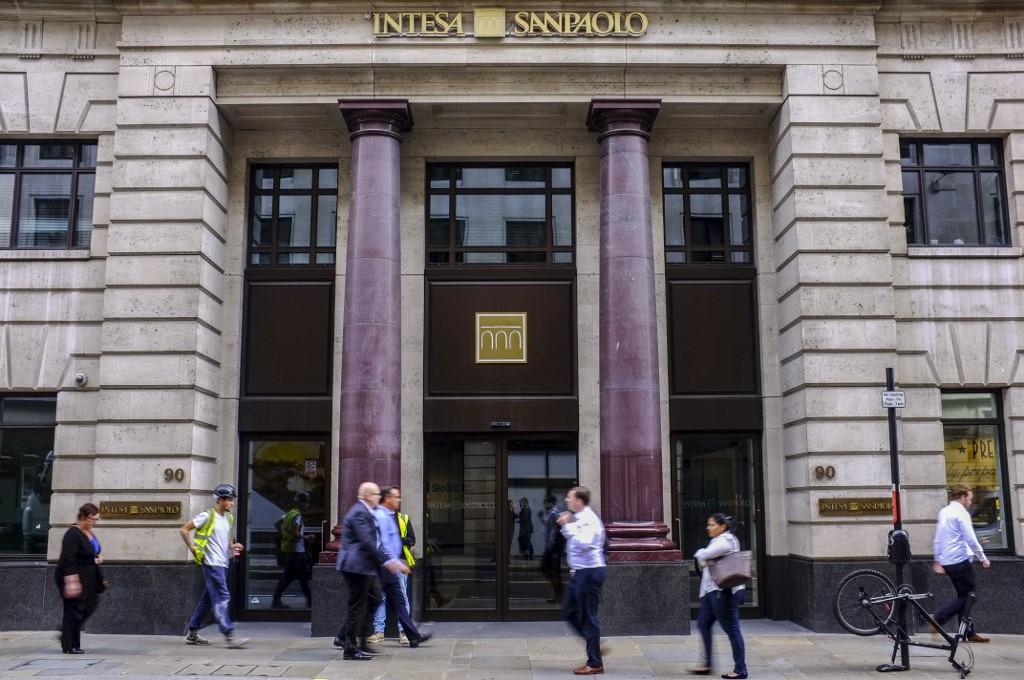 Poslovnica banke Intesa Sanpaolo u Londonu