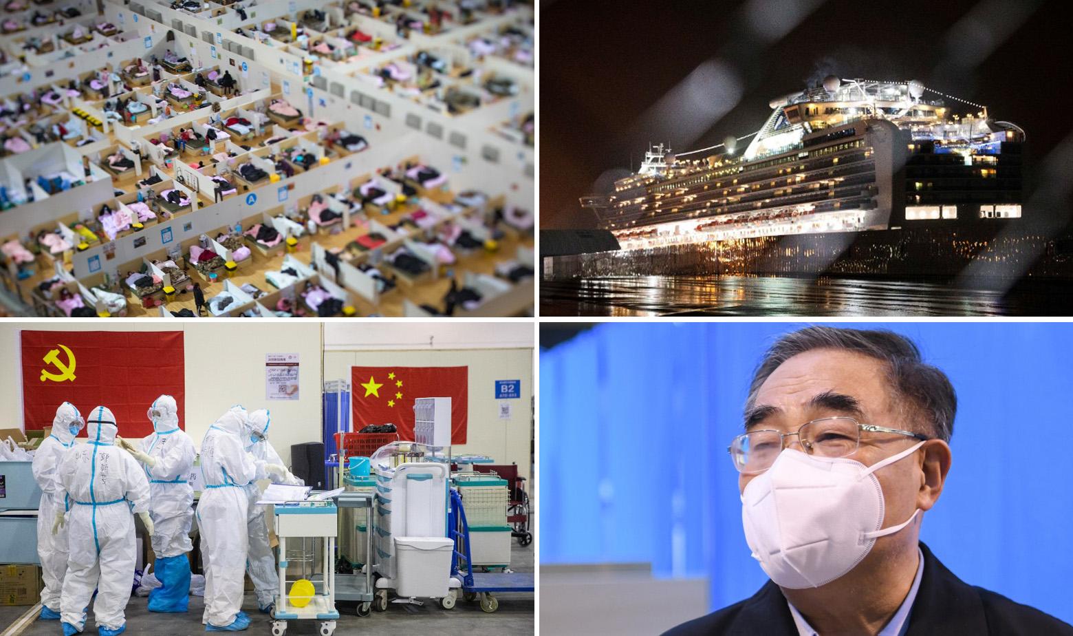 Koronavirus Wuhan kruzer