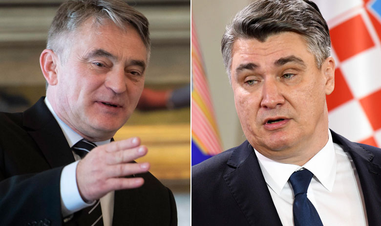 Željko Komšić i Zoran Milanović