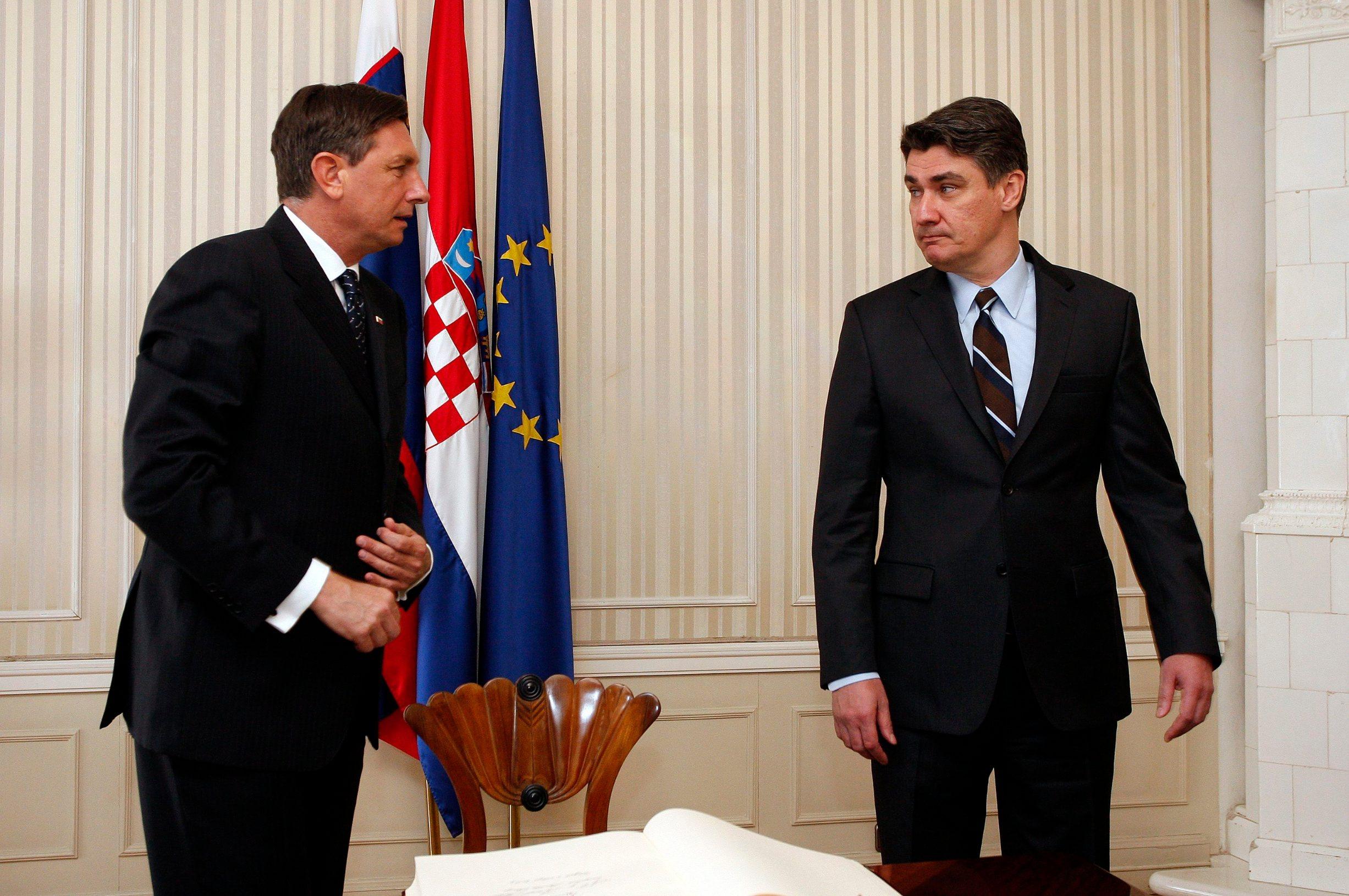 Susret Boruta Pahora i Zorana Milanovića 2013. godine