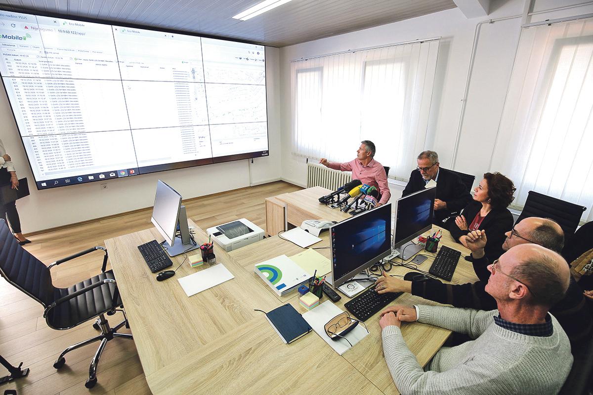 Operativni komunikacijski odjel i Ophodarska služba podružnice Čistoća