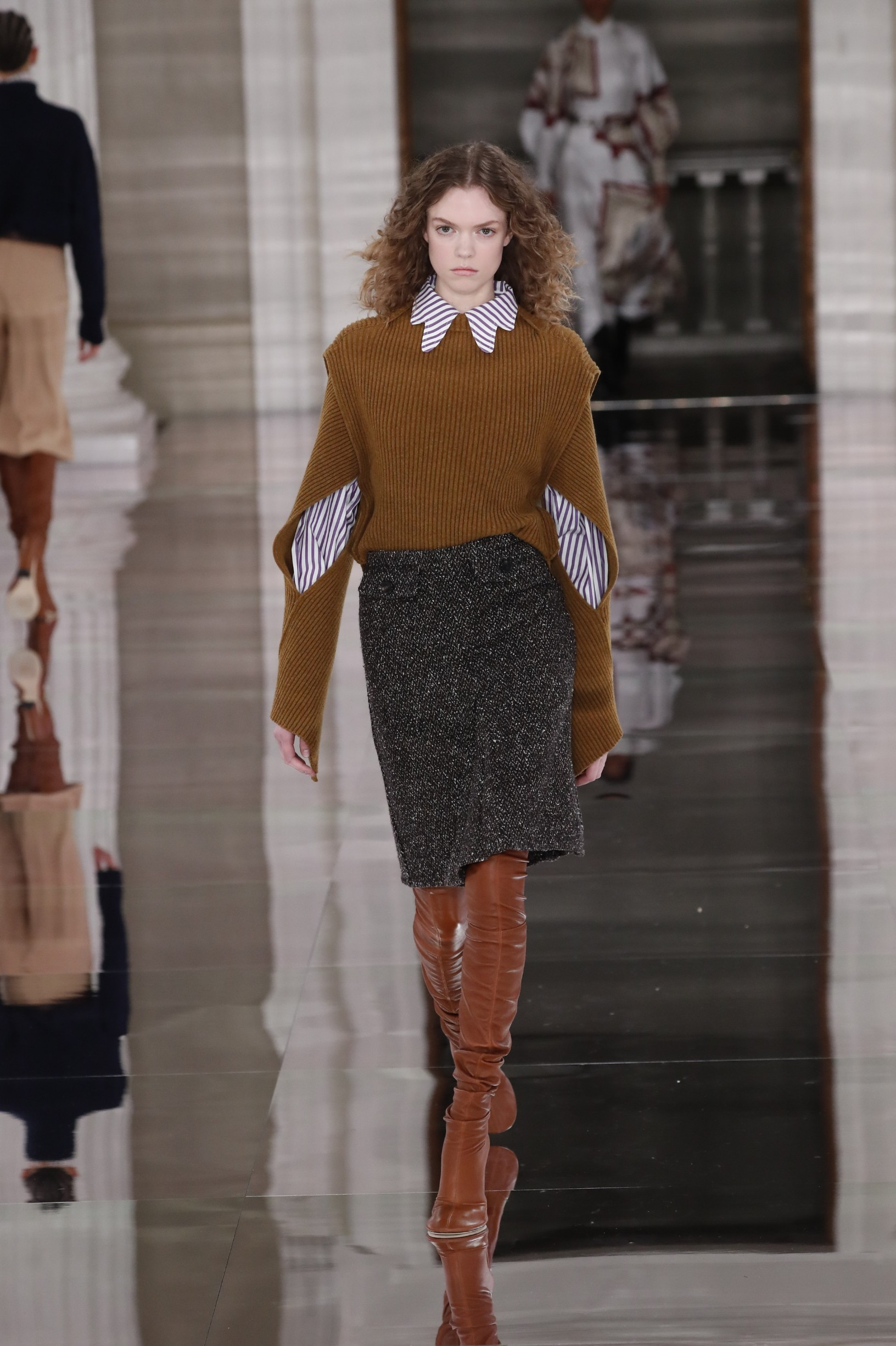 Victoria Beckham Fall/Winter 2020/21 London Fashion Week,  England, UK in February 2020., Image: 499304067, License: Rights-managed, Restrictions: , Model Release: no, Credit line: Rick Gold / Capital pictures / Profimedia