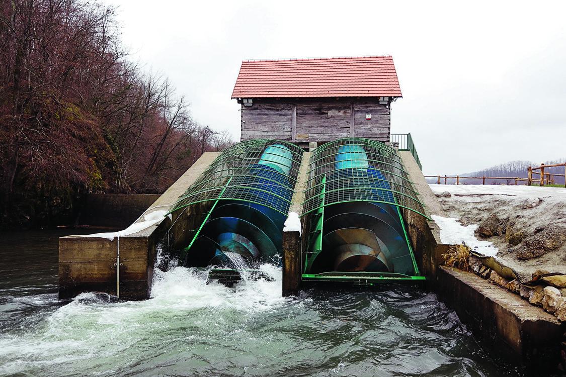 Hidroelektrana Crljenac kod Topuskog