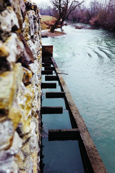 Topusko, 200120. Hidroelektrana Crljenac kod Topuskog.  Na fotografiji: hidroelektrana.  Foto: Marko Todorov / CROPIX