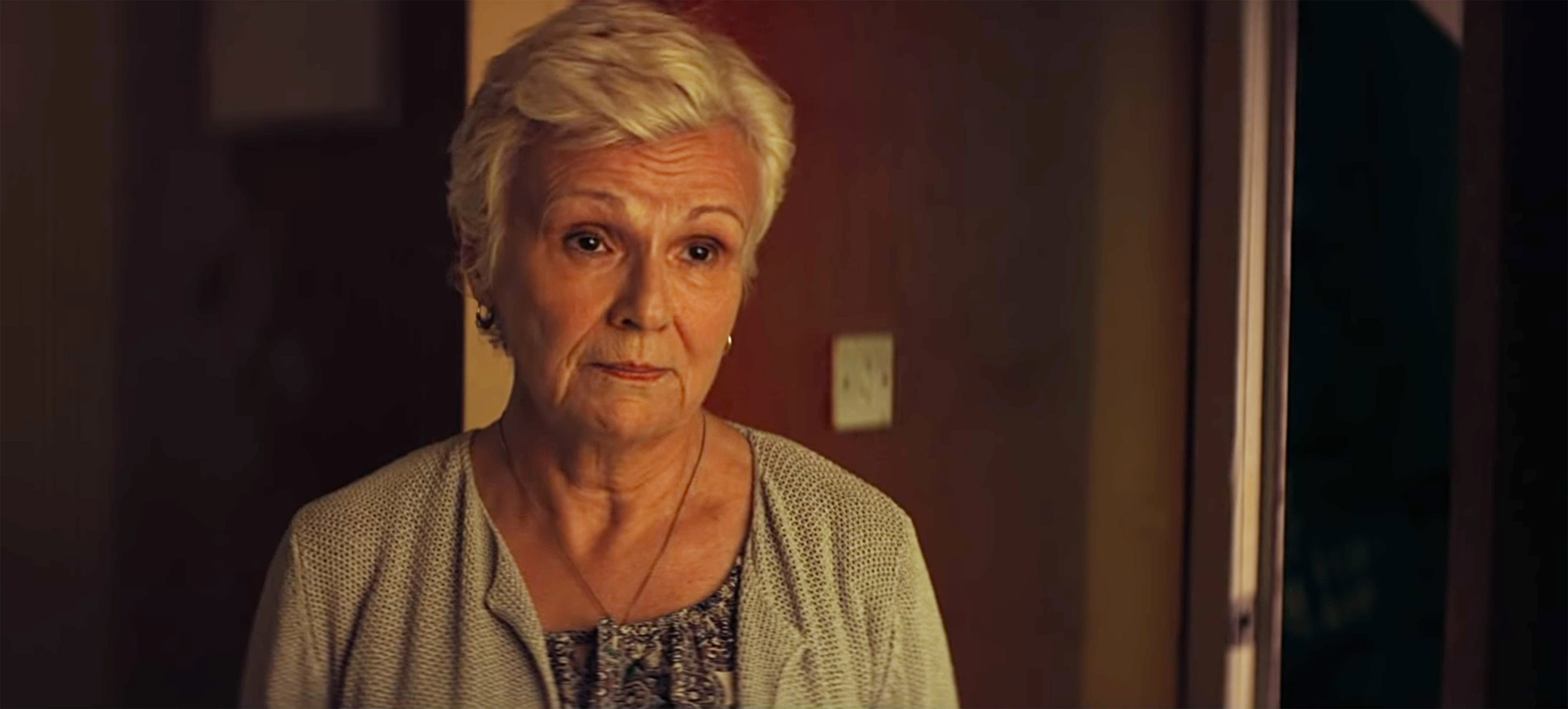 UK.  Julie Walters  in the ©Neon new movie: Wild Rose  (2019).  Plot: A musician from Glasgow dreams of becoming a Nashville star., Image: 421377398, License: Rights-managed, Restrictions: Supplied by Landmark Media. Editorial Only. Landmark Media is not the copyright owner of these Film or TV stills but provides a service only for recognised Media outlets., Model Release: no, Credit line: Supplied by LMK / Landmark / Profimedia