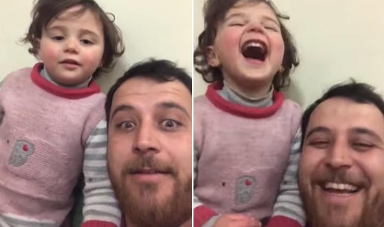 tata i curica iz Sirije