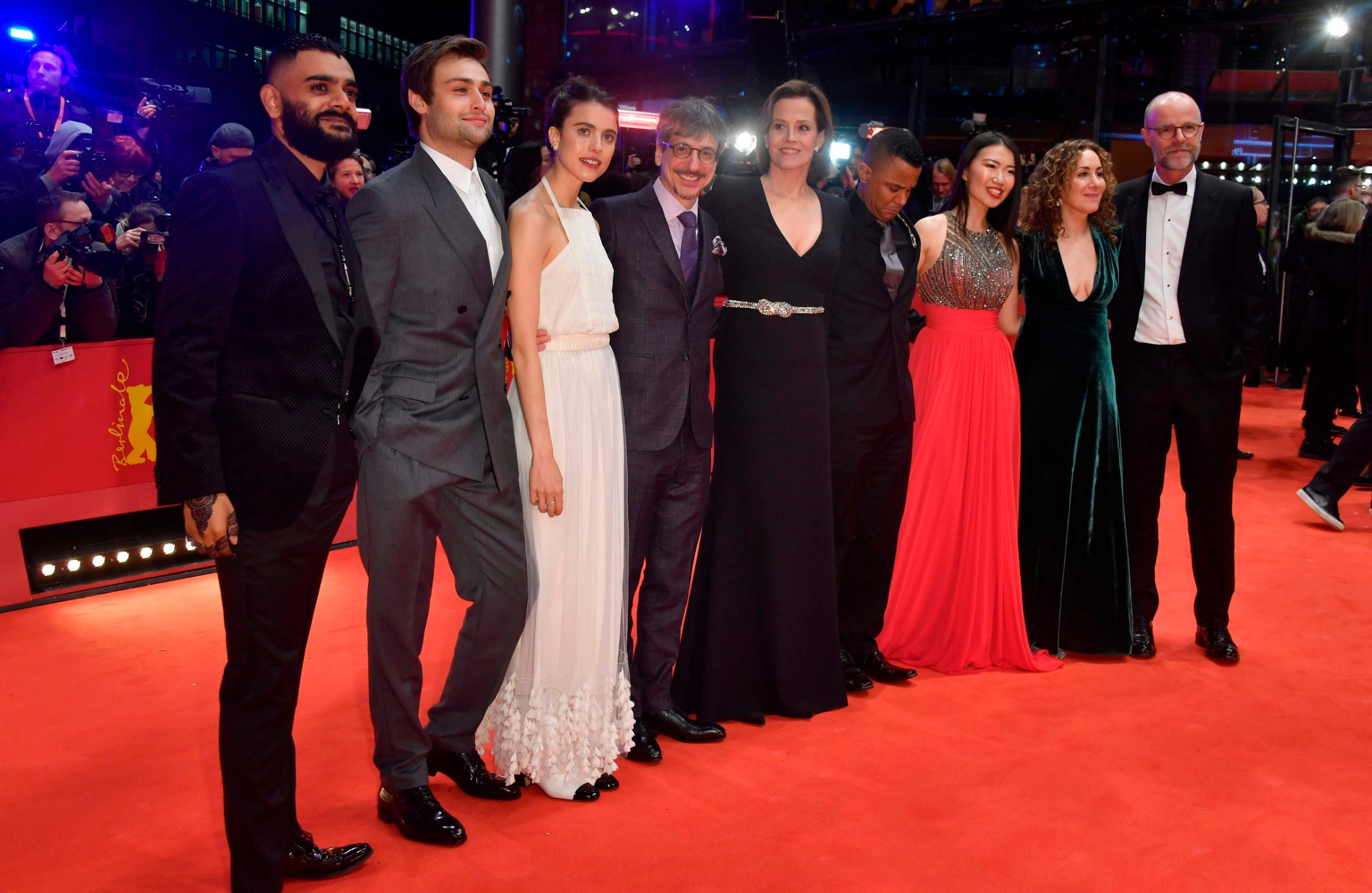 The cast of the film