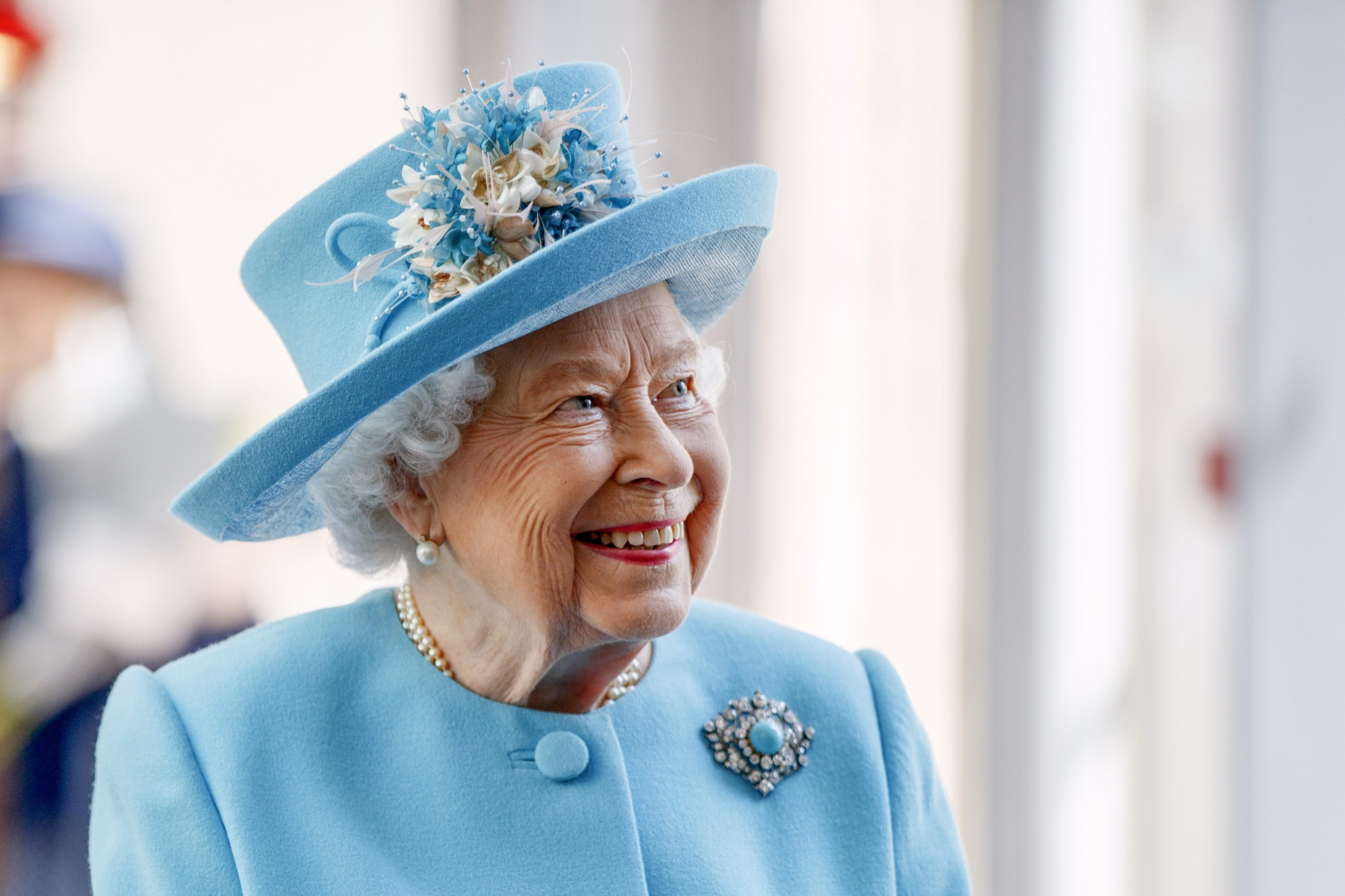File photo dated 23/05/19 of Queen Elizabeth II smiling during a visit to the headquarters of British Airways at Heathrow Airport, London, to mark their centenary year., Image: 490359733, License: Rights-managed, Restrictions: FILE PHOTO, Model Release: no, Credit line: Tolga Akmen / PA Images / Profimedia