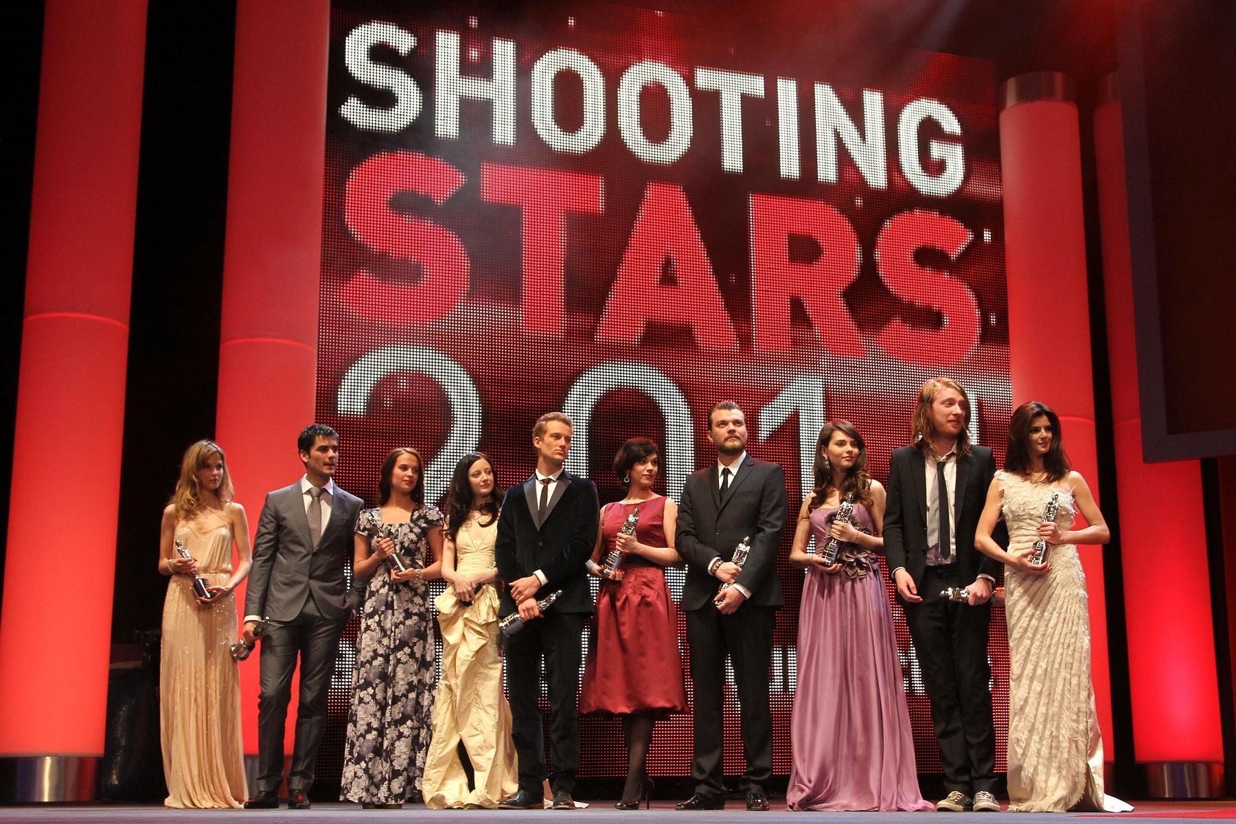 Marija Škaričić na Berlinaleu 2011. godine gdje je osvojila nagradu 'Shooting Stars'