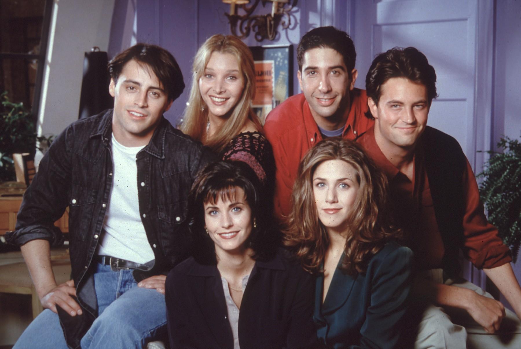 Matt LeBlanc, Lisa Kudrow, David Schwimmer, Matthew Perry, Courtney Cox i Jennifer Aniston
