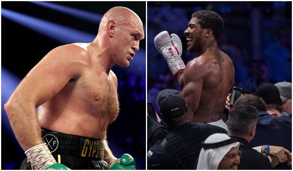 Tyson Fury i Anthony Joshua