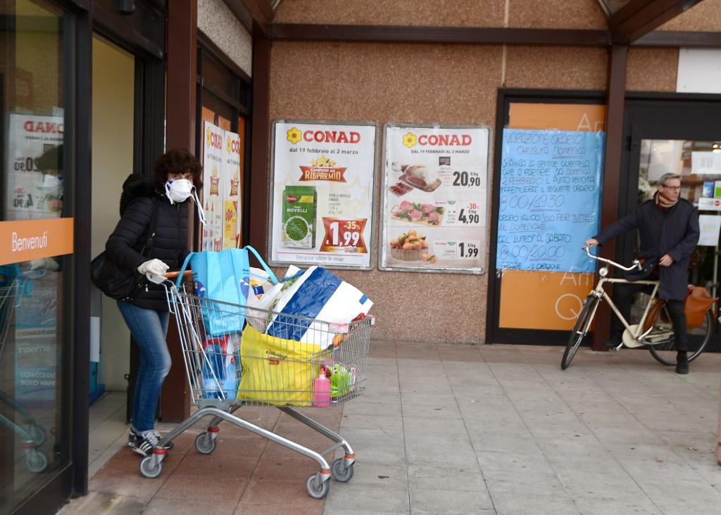 Kupovina zaliha u talijanskom gradu Casalpusterlengo