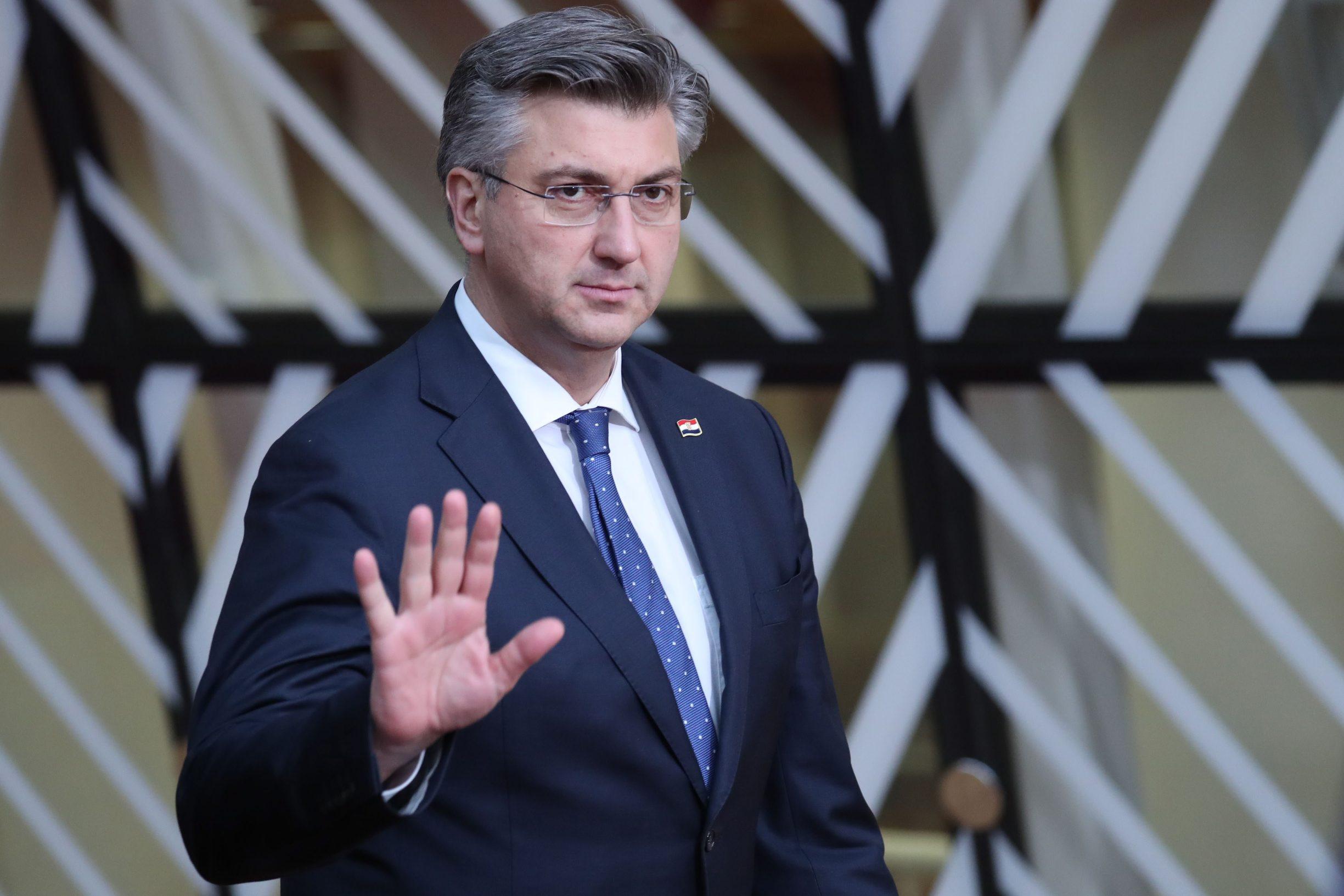 Hrvatski premijer Andrej Plenković