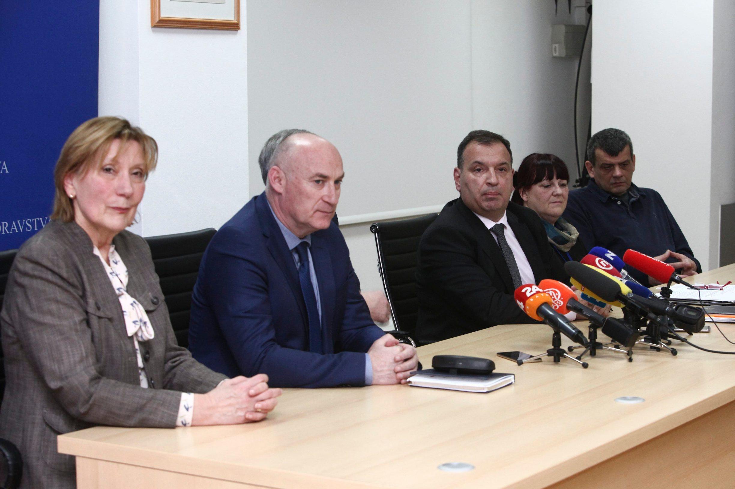 Spomenka Uremović, Damir Trut, Maja Grba Bujević, Vili Beroš, Krunoslav Capak, Bernard Kaić