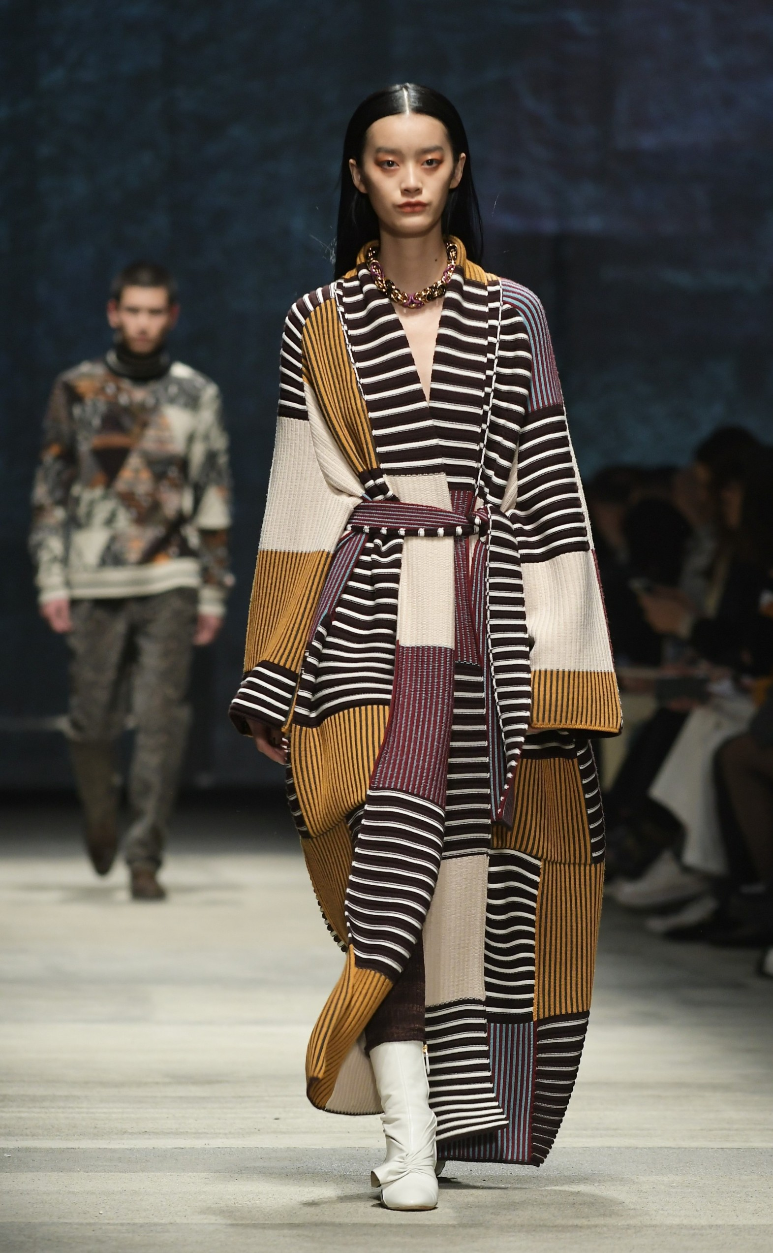 2/23/2020 - Milan, Italy MFW MISSONI photocall and show MILANO FASHION WEEK woman Fall-Winter 2020-21 In the photo: MISSONI show, Image: 500367099, License: Rights-managed, Restrictions: *** NO SALES UK AND ITALY***, Model Release: no, Credit line: IPA / ddp USA / Profimedia