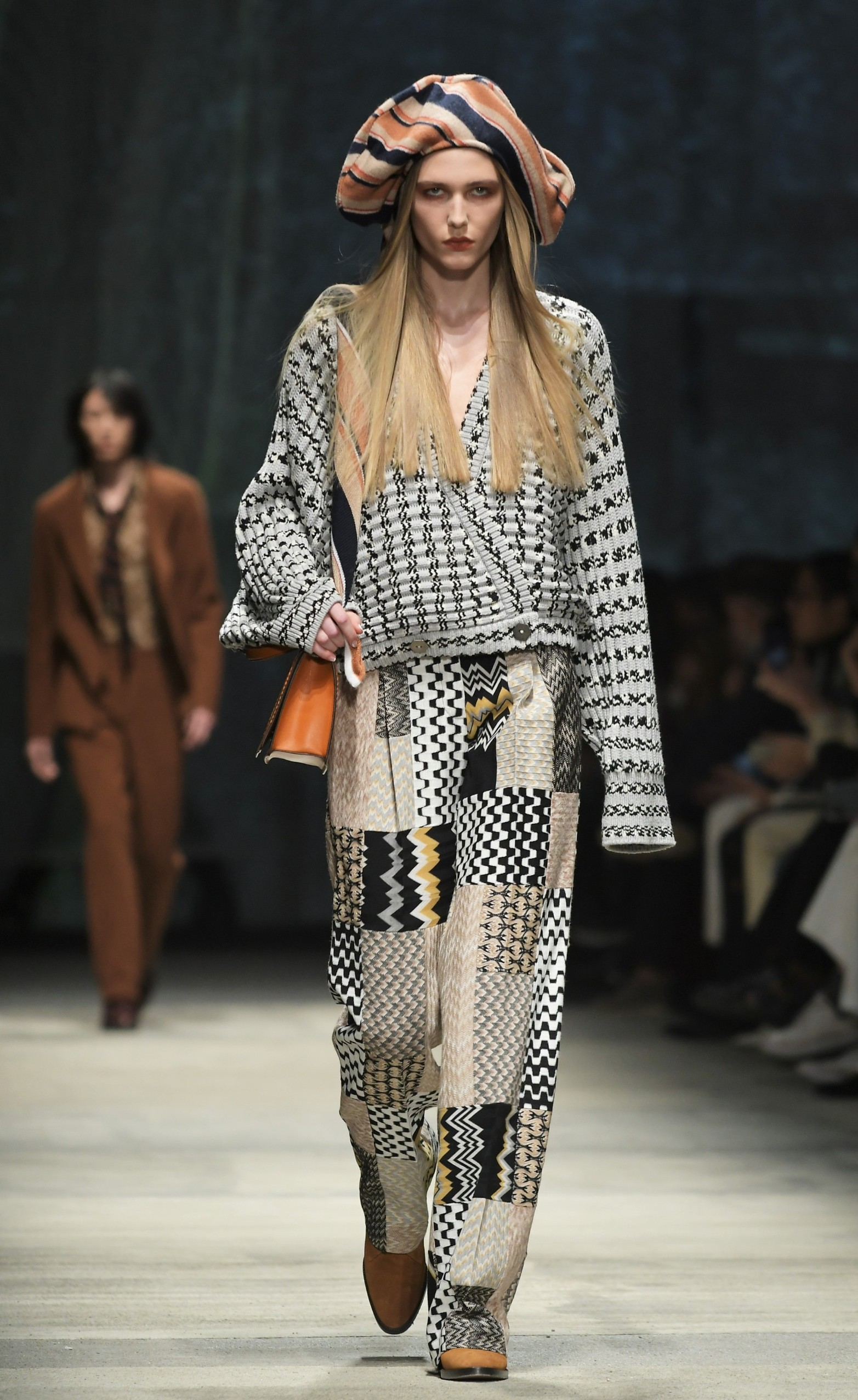 2/23/2020 - Milan, Italy MFW MISSONI photocall and show MILANO FASHION WEEK woman Fall-Winter 2020-21 In the photo: MISSONI show, Image: 500368131, License: Rights-managed, Restrictions: *** NO SALES UK AND ITALY***, Model Release: no, Credit line: IPA / ddp USA / Profimedia