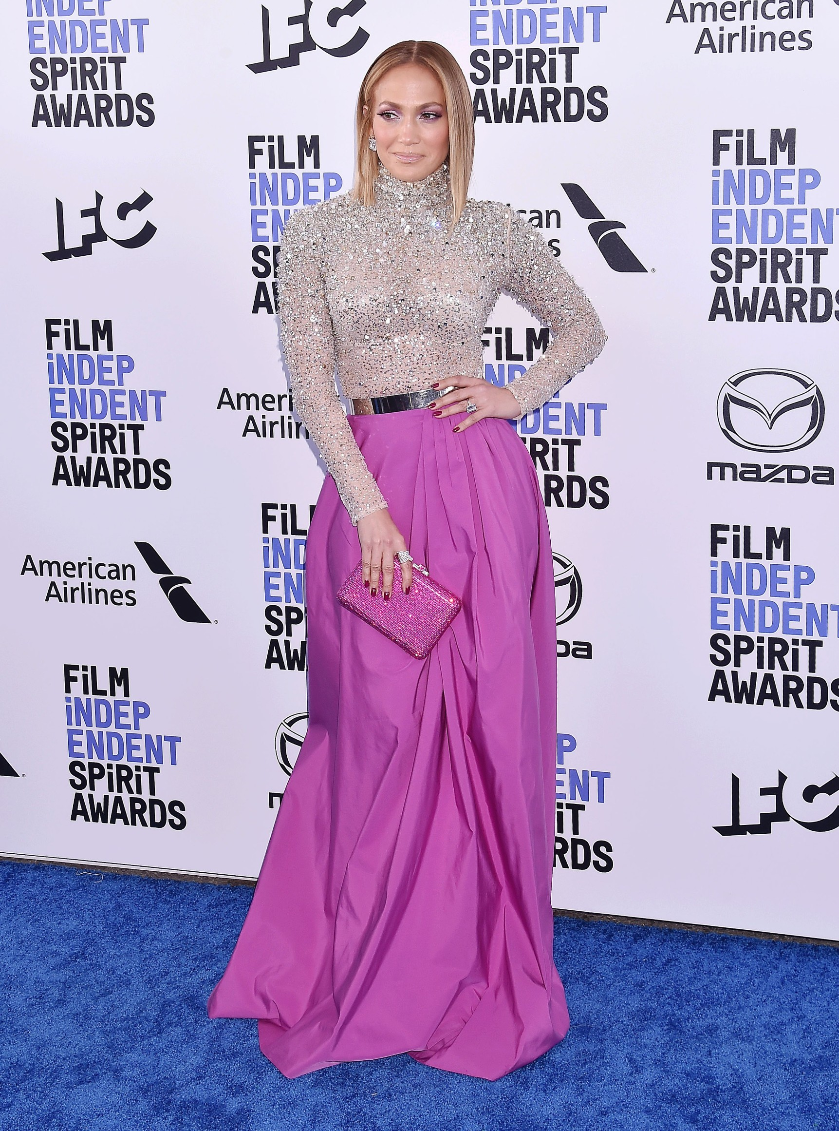 2020 Film Independent Spirit Awards - Arrivals. 08 Feb 2020, Image: 497633131, License: Rights-managed, Restrictions: ONLY Australia, Belgium, Canada, China, Croatia, Czech Republic, Denmark, Estonia, Finland, Germany, Greece, Hong Kong, Japan, Lithuania, Luxembourg, Netherlands, Norway, Portugal, Russia, Saudi Arabia, Serbia, Singapore, South Africa, South Korea, Spain, Sweden, Switzerland, United Kingdom, United States, Virgin Islands (Brit), Virgin Islands (USA), Model Release: no, Credit line: MEGA / The Mega Agency / Profimedia
