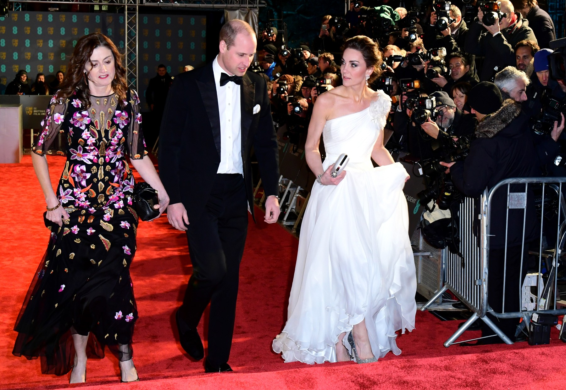 The Duke and Duchess of Cambridge attending the 72nd British Academy Film Awards held at the Royal Albert Hall, Kensington Gore, Kensington, London., Image: 413100774, License: Rights-managed, Restrictions: , Model Release: no, Credit line: Ian West / PA Images / Profimedia