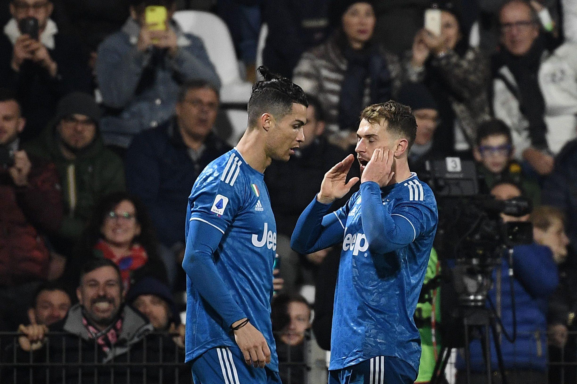 Ronaldo i Ramsey