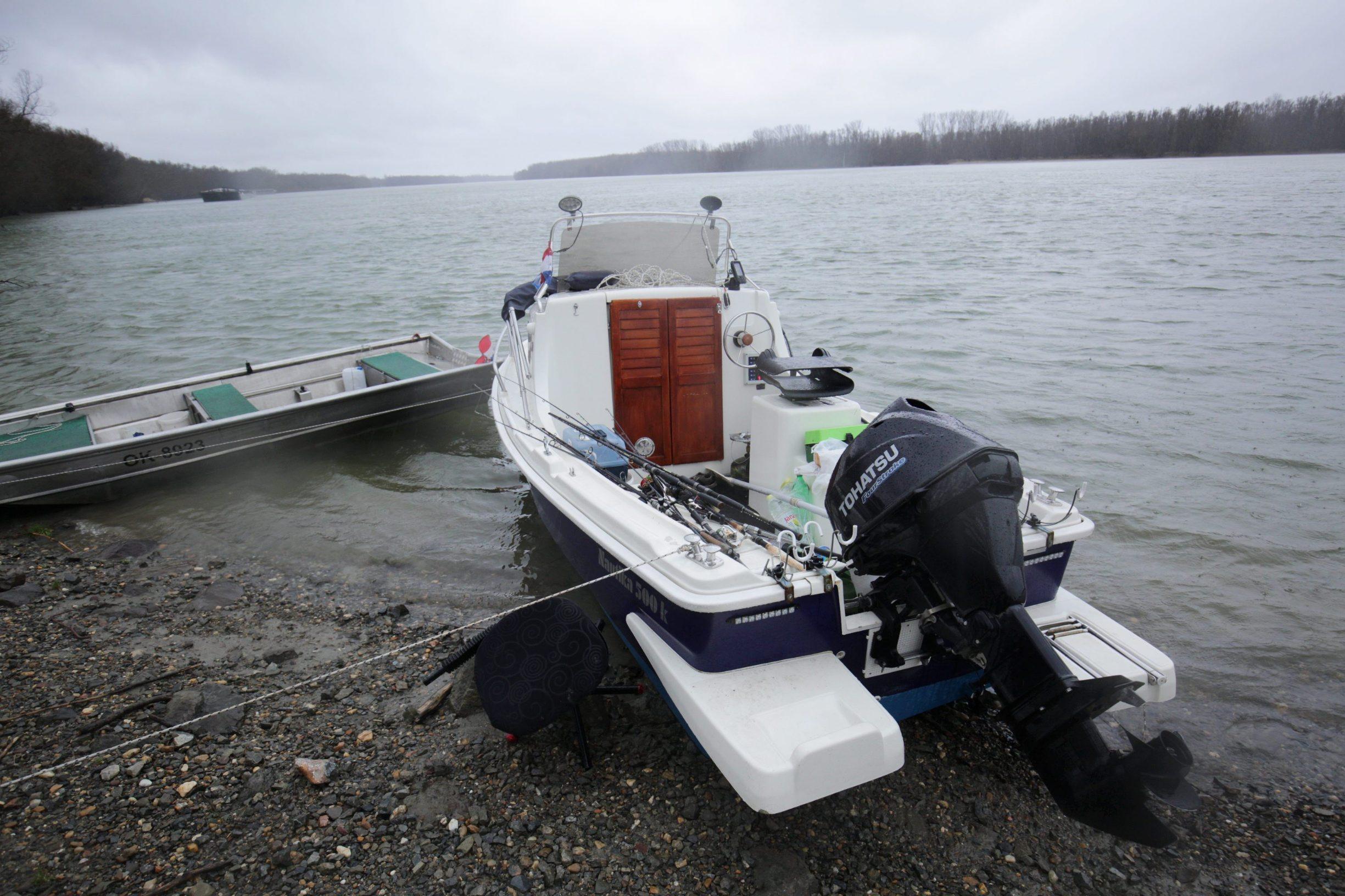 Čamac poginulih ribiča