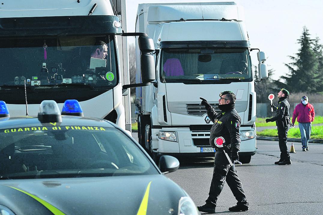 Ilustracija, kamioni