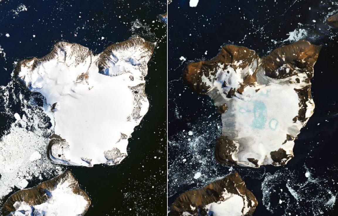 nasa antarktika