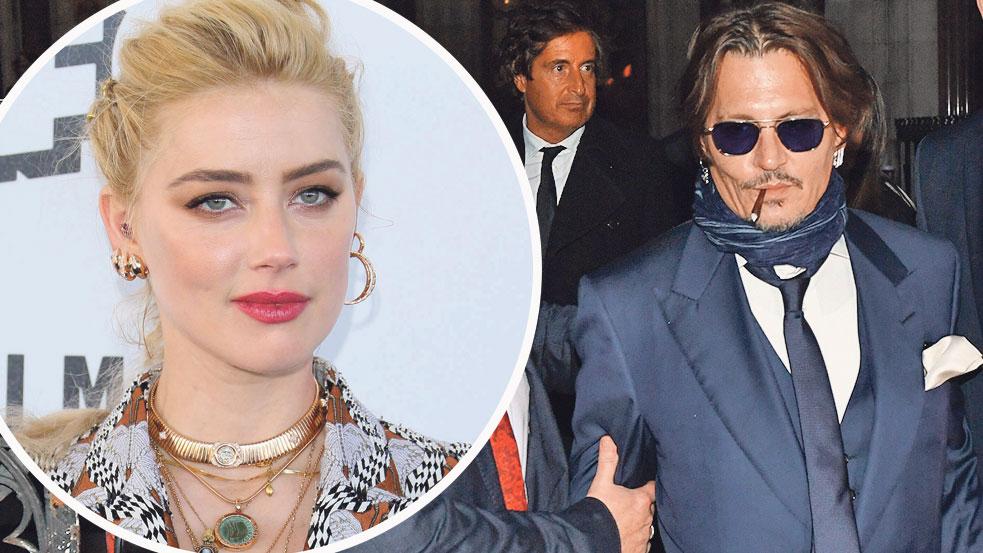Amber Heard (lijevo) i Johnny Depp (desno)