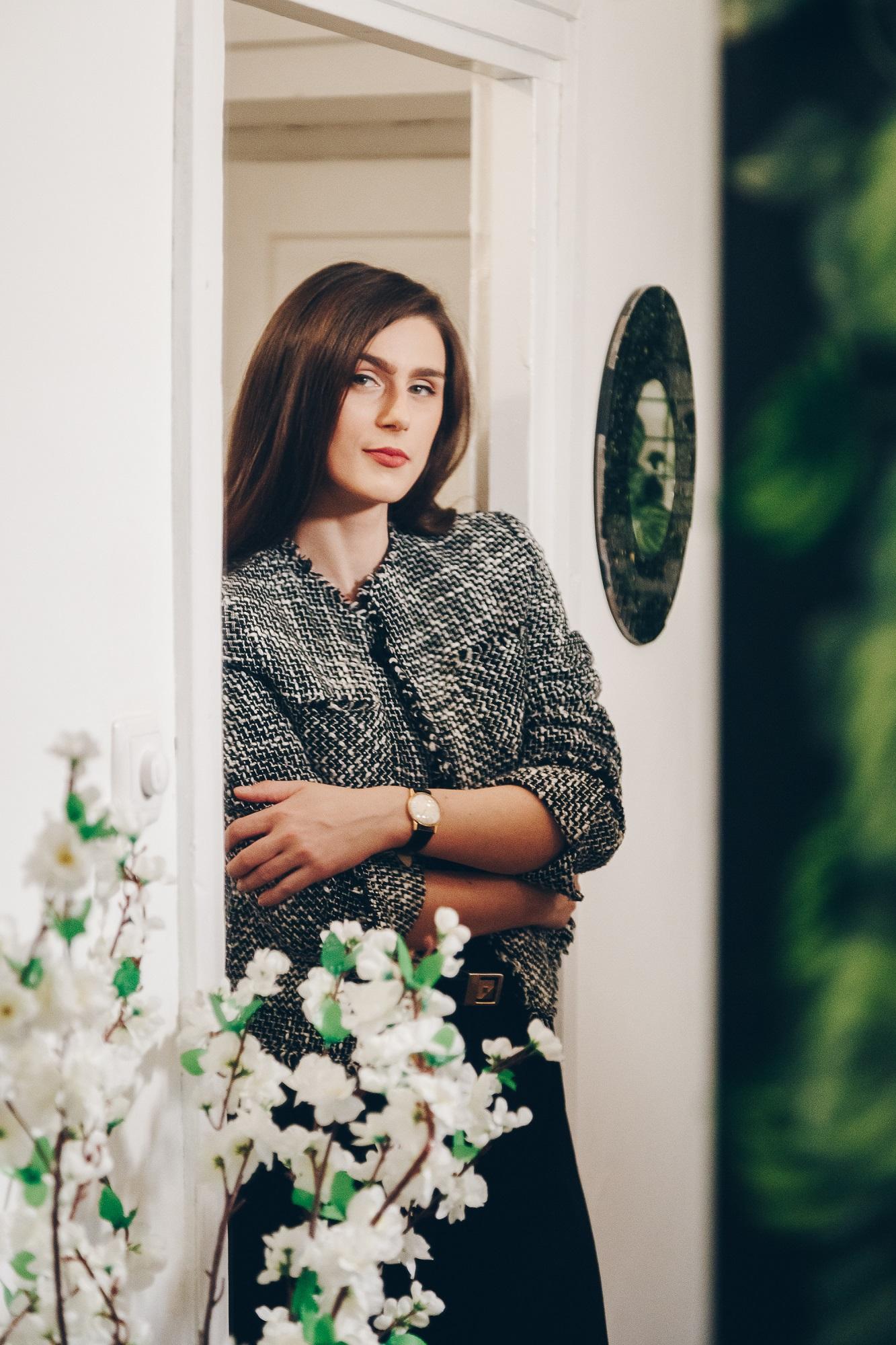 Zagreb, 26.02.2020.   Portret Izabele Kecan, mladen modne dizajnerice i vlasnice branda Dizajn by Izabela Kecan.  Foto: Sara B. Moritz/CROPIX