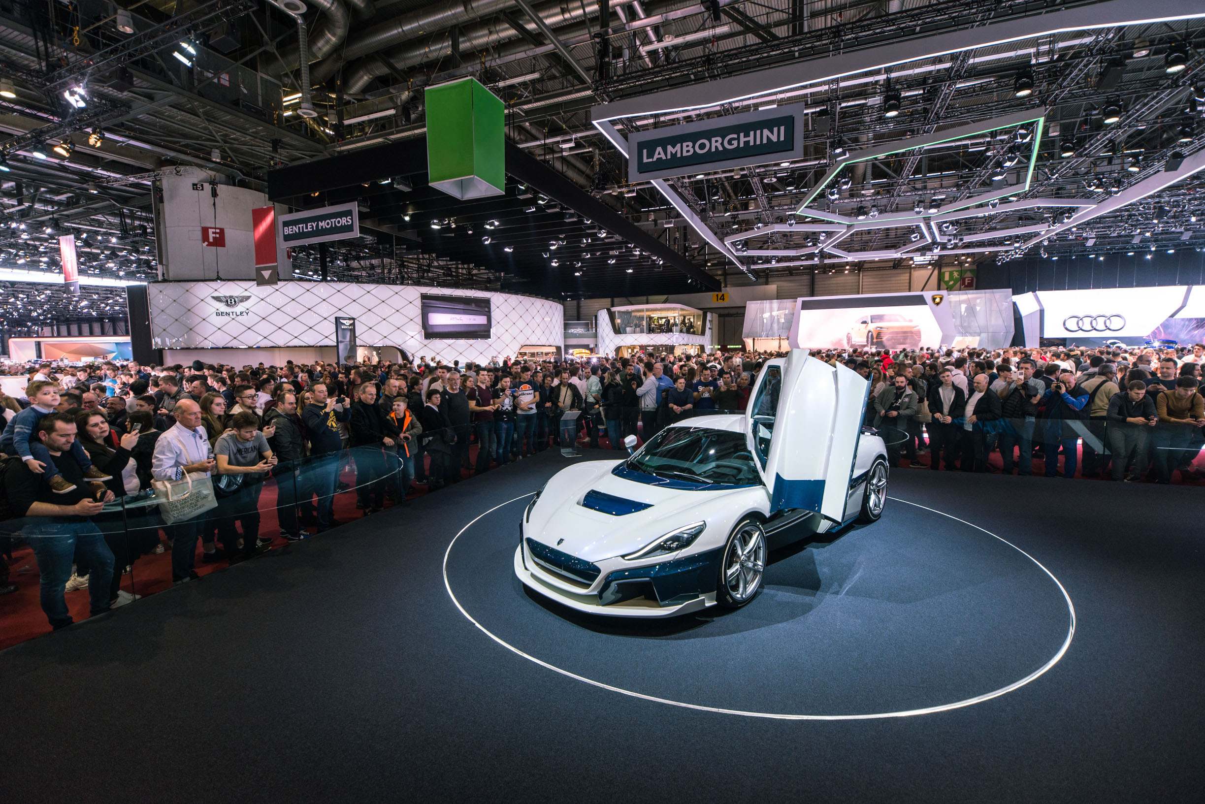 Prošlogodišnje izlaganje Rimac Automobila na Gebeva Motor Showu